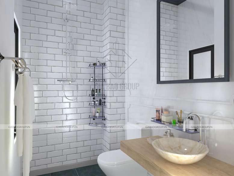 Phòng tắm và nhà vệ sinh sử dụng nội thất cao cấp
