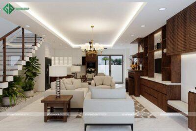 Hồ sơ nội thất là gì? tìm hiểu hồ sơ nội thất nhà phố Melosa Garden Khang Điền, q9