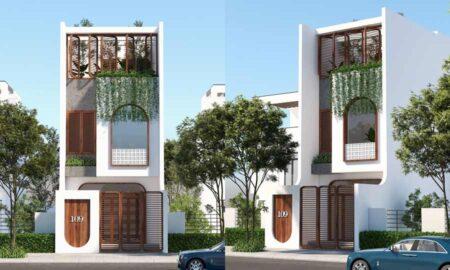 Nhà phố hiện đại 3 tầng thiết kế ấn tượng, nội thất sang trọng tiện nghi