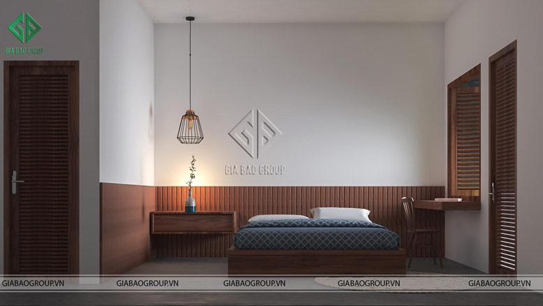 Thiết kế phòng ngủ hiện đại, đẹp mắt tại nhà phố hiện đại 3 tầng