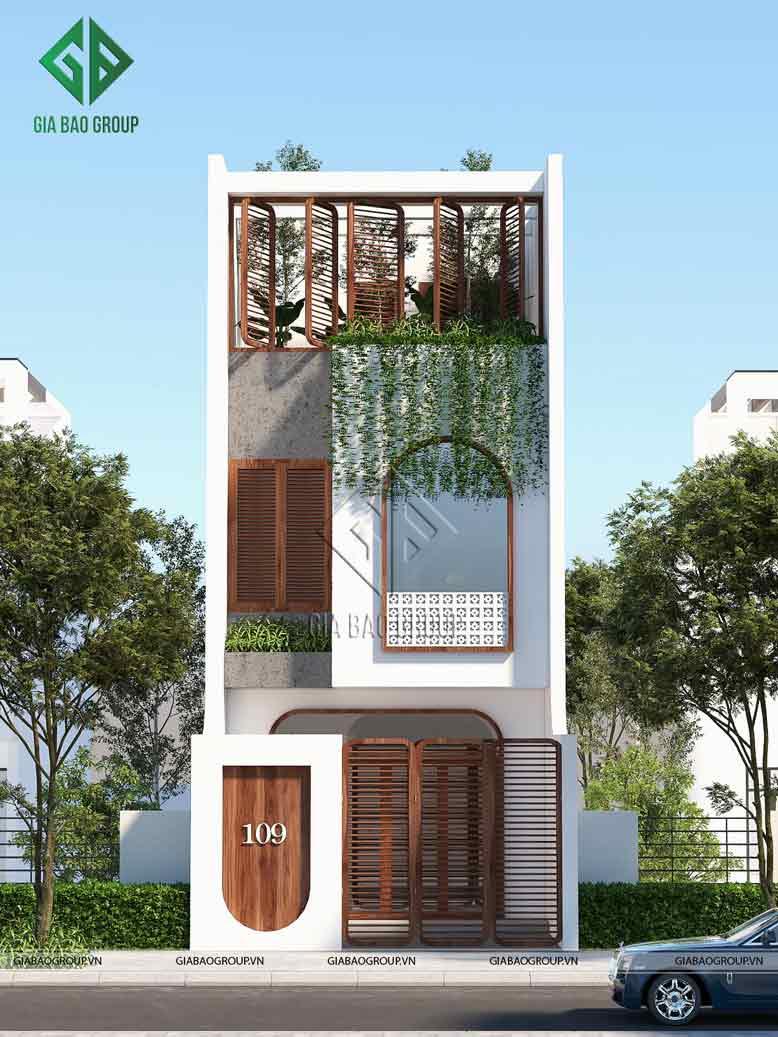 Lưu ý khi thiết kế và thi công nhà phố 4 tầng đẹp mắt và để lại nhiều ấn tượng