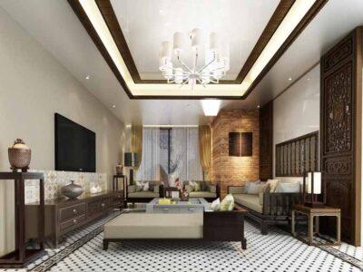 Những thiết kế phòng khách nhà ống 4m đẹp, đa dạng phong cách
