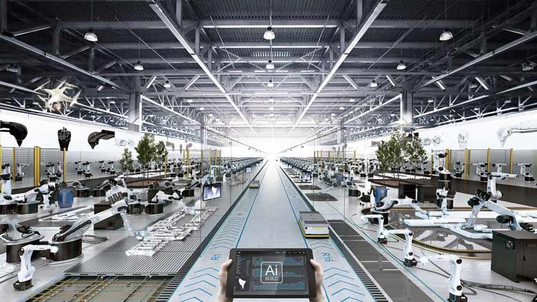 Mẫu thiết kế nhà xưởng hiện đại, không gian thoáng đãng