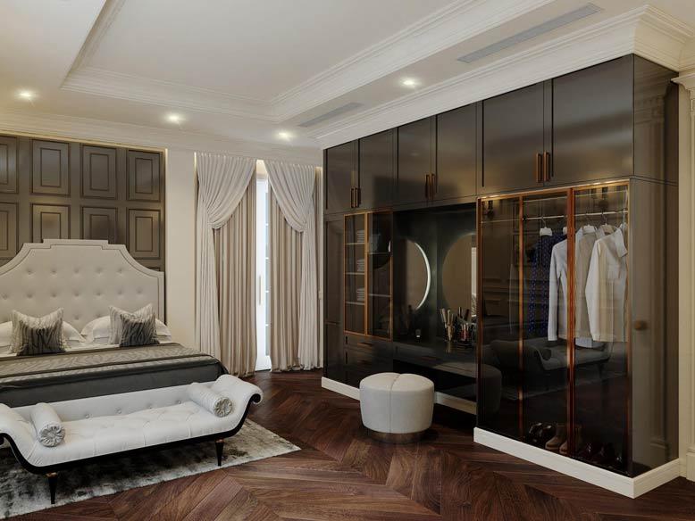 Thiết kế nội thất biệt thự cần phải đáp ứng tiêu chí sang trọng, xứng tầm với chủ nhân biệt thự.