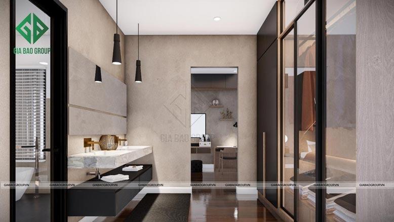 Thiết kế nội thất hướng đến sự sang trọng, tiện nghi