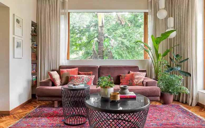 Thiết kế phòng khách đẹp mang lại không gian mới mẻ
