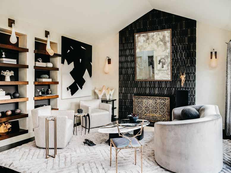 Thiết kế phòng khách đẹp mắt làm cho gia chủ tự tin giao tiếp