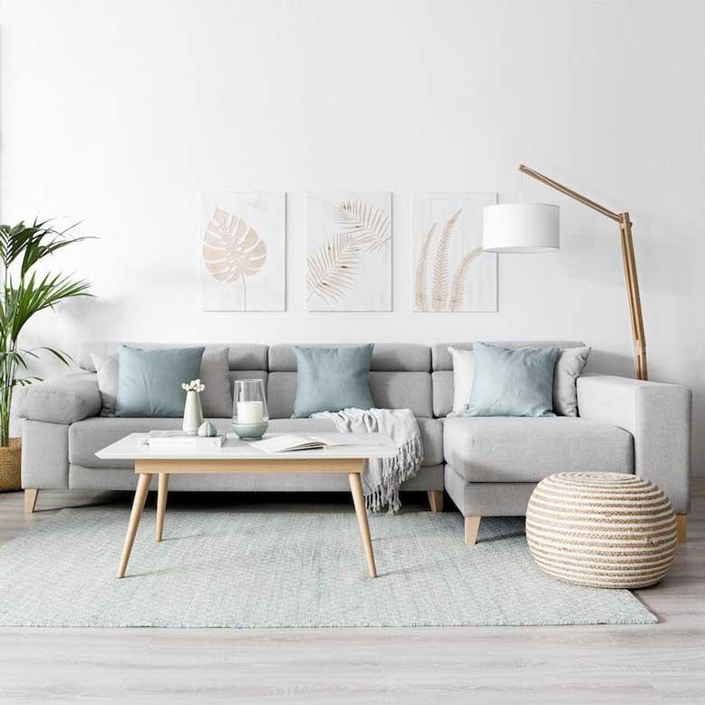 Thiết kế phòng khách đẹp cho căn hộ và nhà có diện tích nhỏ
