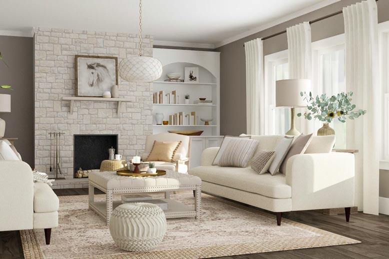 10 mẫu phòng khách đẹp được ưa chuộng nhất hiện nay