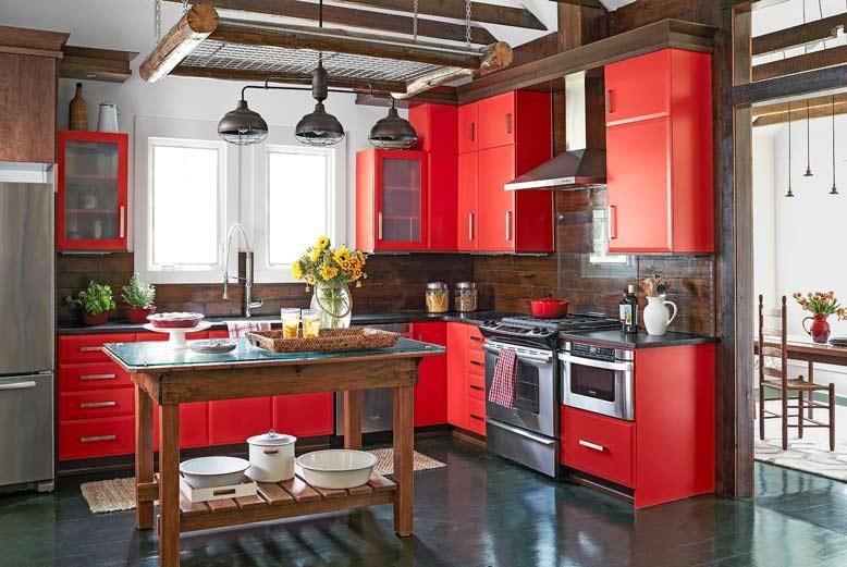 10 mẫu tủ bếp đẹp hợp phong thủy và làm nổi bật không gian bếp