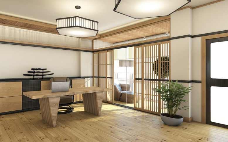 Không gian nội thất Nhật Bản tối giản
