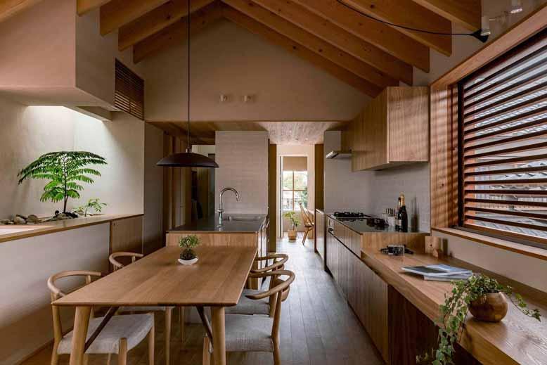 Yếu tố thiên nhiên là nét đặc trưng trong nội thất Nhật Bản