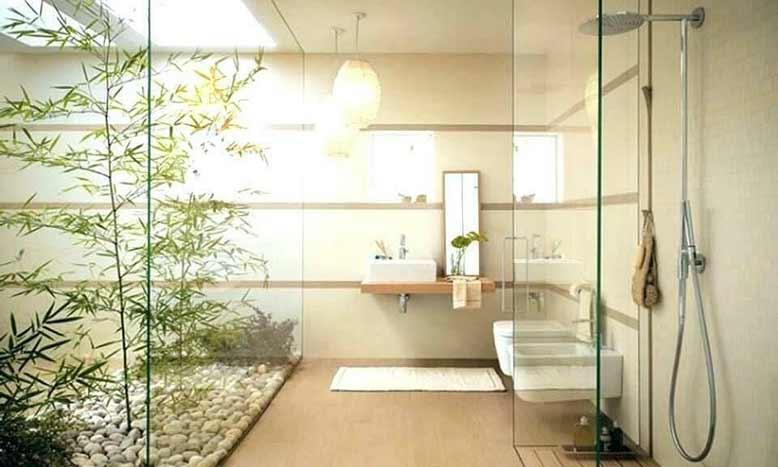 Phòng tắm lộ thiên - Văn hóa tắm Onsen phổ biến trong nội thất Nhật Bản