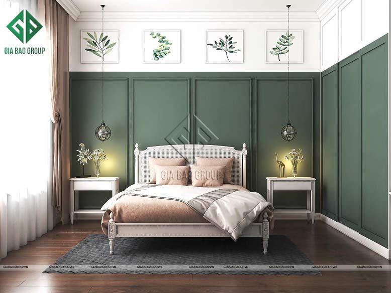 Gợi ý mẫu trang trí phòng ngủ hiện đại với cách phối nội thất ấn tượng