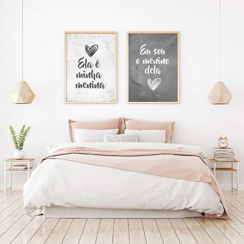 Gợi ý loại tranh sử dụng khi trang trí phòng ngủ trong công trình nhà phố