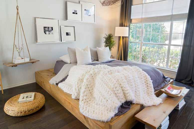 Mẫu thiết kế phòng ngủ theo phong cách Urban đẹp