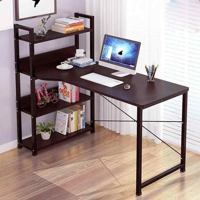 Tủ gỗ nội thất thông minh tích hợp bàn làm việc
