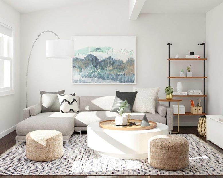 Nội thất phòng ngủ nhỏ cho căn hộ chung cư với thiết kế đẹp