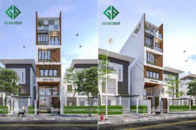 Thiết kế nhà phố kết hợp kinh doanh phong cách hiện đại, thời thượng