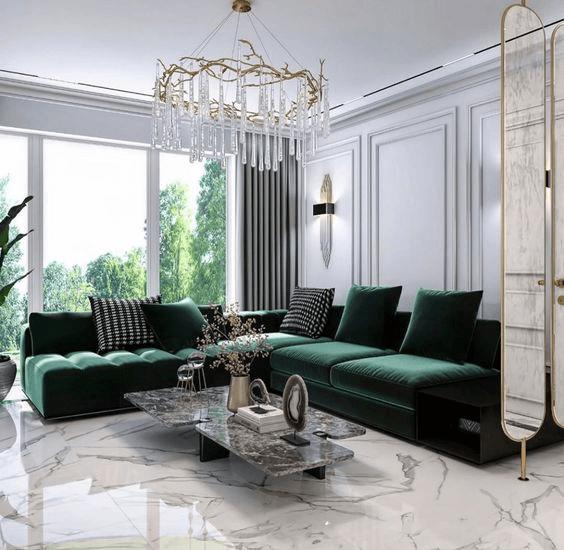 7 mẫu nội thất cao cấp, thời thượng cho không gian sống hoàn mỹ