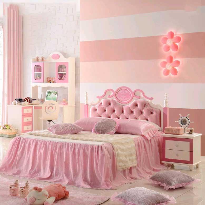 Với thiết kế giường ngủ công chúa