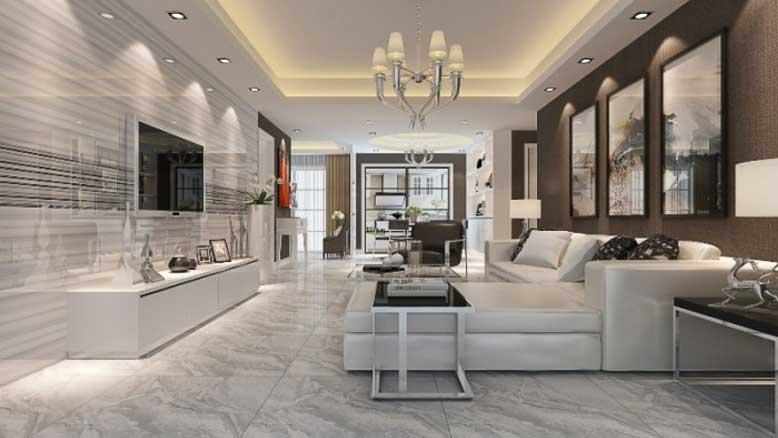 Thiết kế phòng khách đầy sang trọng và tinh tế