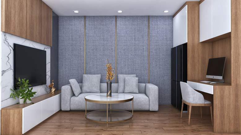 Phòng sinh hoạt chung trong nội thất hiện đại