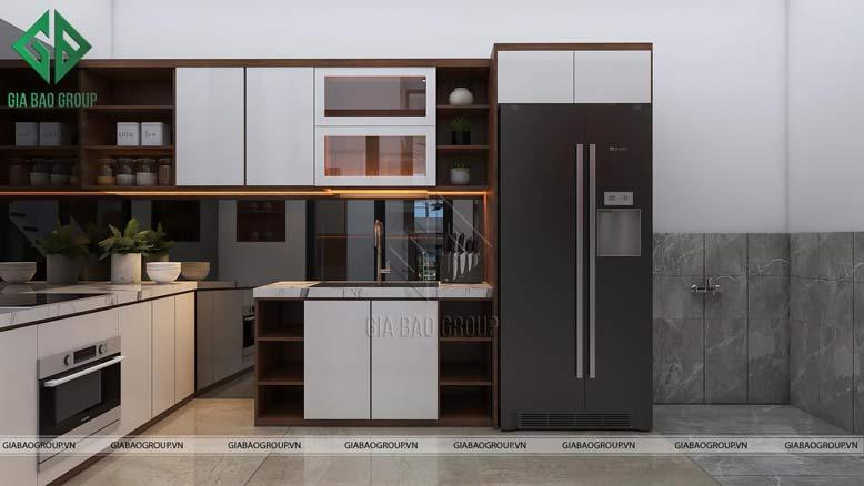 Nội thất nhà đẹp cho không gian nhà bếp ấm cúng, tiện nghi, sung túc