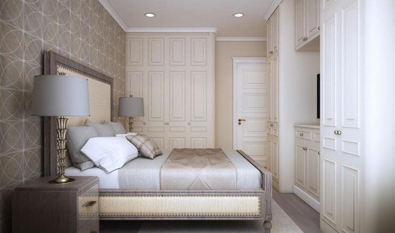Phòng ngủ 2 đơn giản gọn gàng