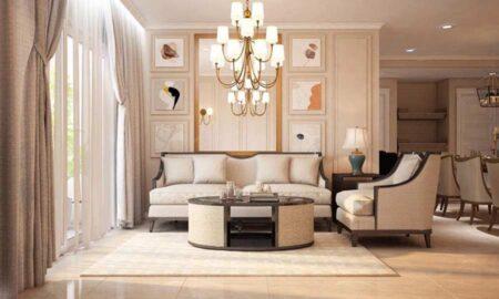 Mẫu nội thất tân cổ điển đẹp, đẳng cấp tại căn hộ chung cư Sunrise City, quận 7