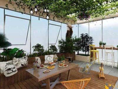 3 ý tưởng thiết kế sân thượng ấn tượng khiến gia chủ siêu lòng