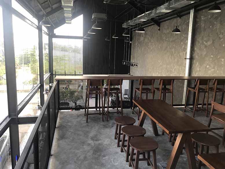 Thi công quán cafe Ours Coffee