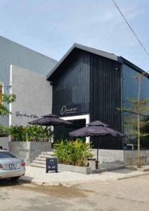 Thi công quán cafe Ours Coffee phong cách hiện đại, thời thượng