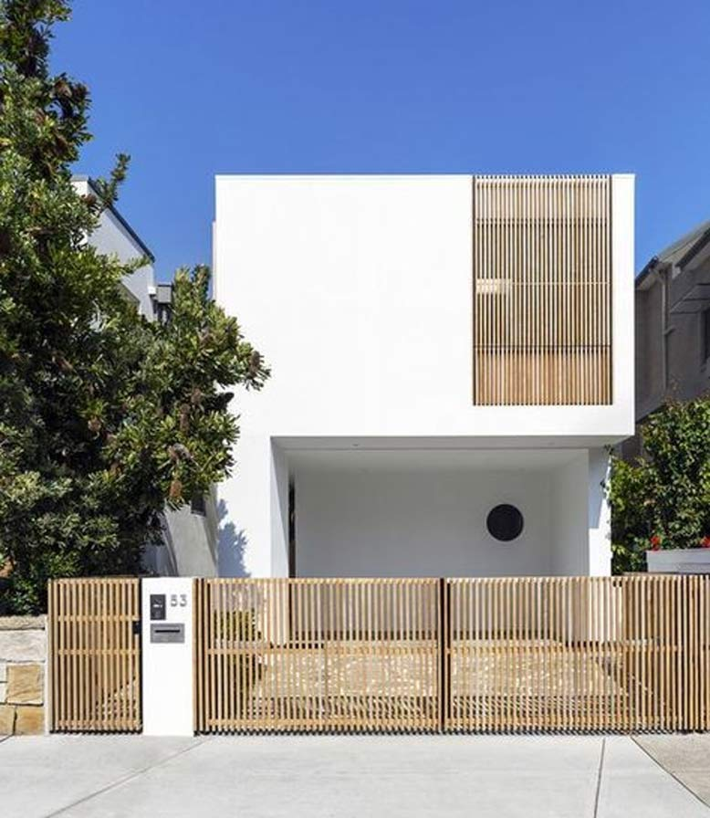 Một thiết kế nhà phố mặt tiền 6m đơn giản, đáp ứng nhu cầu sử dụng của gia chủ