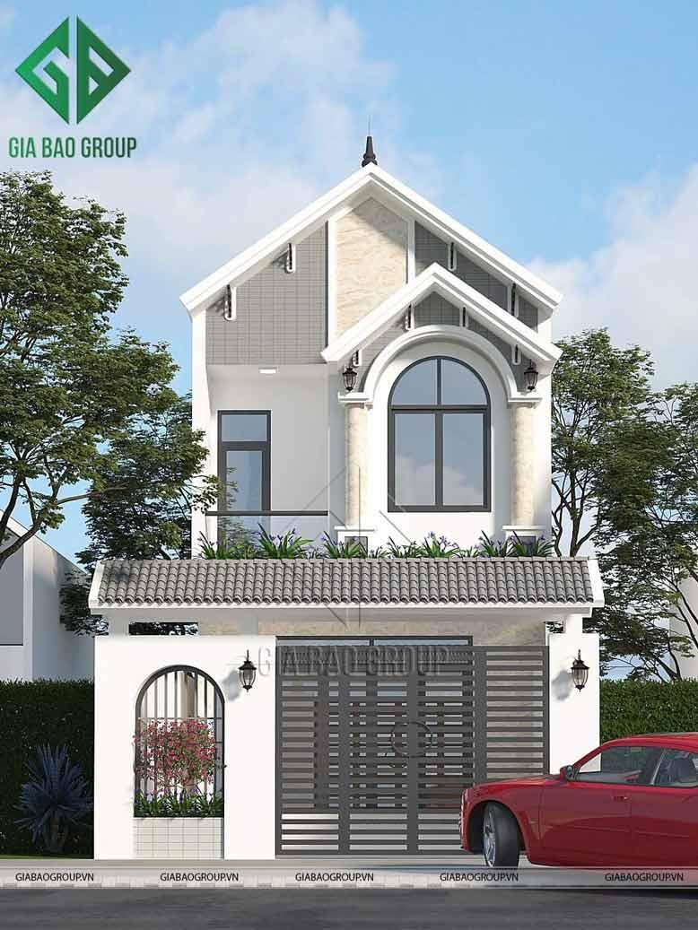 Thiết kế nhà phố mặt tiền 6m ấn tượng từ KTS của Gia Bảo Group