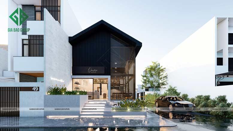 Thiết kế nội thất quán cafe đẹp theo phong cách hiện đại