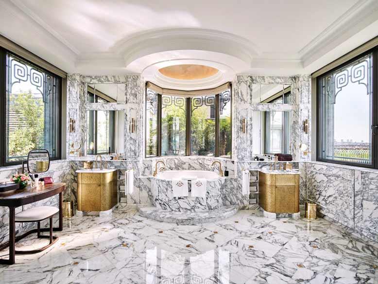 Nội thất phòng tắm đẹp và sang trọng đến từ các khách sạn nổi tiếng thế giới