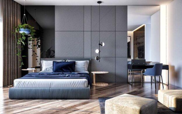 Nội thất phòng ngủ đẹp mắt với phong cách mới mẻ