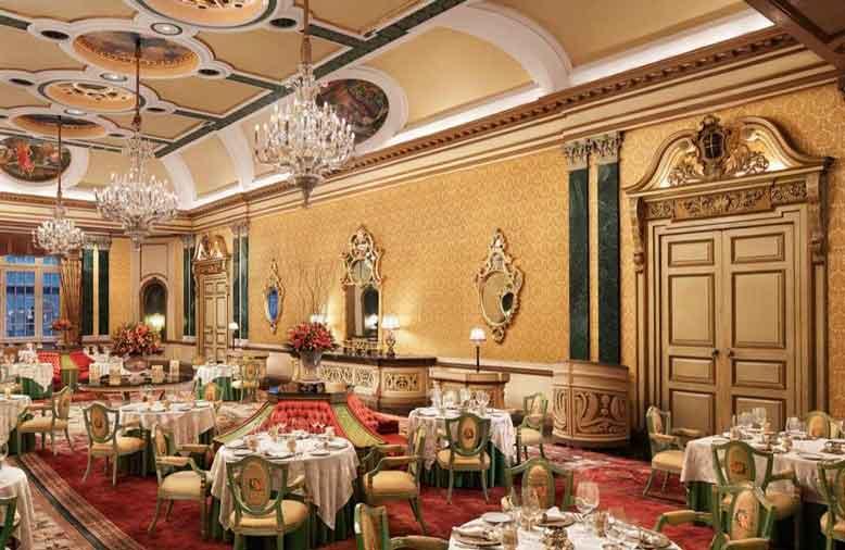 Thiết kế nội thất nhà hàng phong cách cổ điển