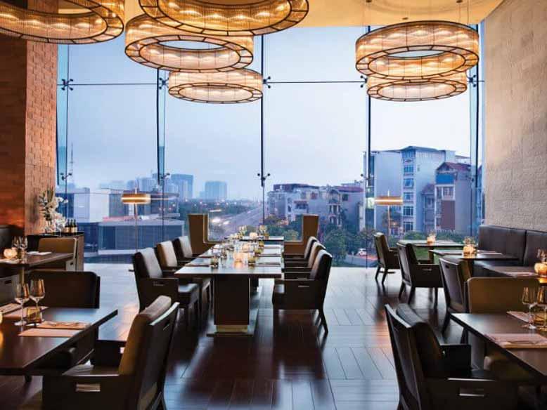 Thiết kế nội thất nhà hàng phong cách châu Âu sang trọng và lãng mạn