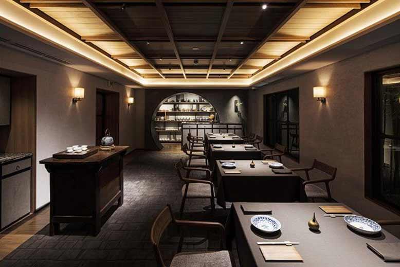 Thiết kế nội thất nhà hàng phong cách Nhật Bản