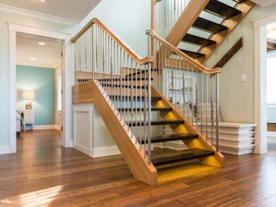 Những mẫu cầu thang gỗ đẹp và đa dạng phong cách cho không gian nhà bạn