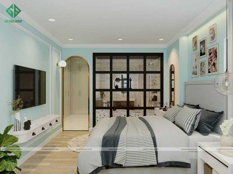 Những nét thiết kế đặc trưng của phòng ngủ tân cổ điển