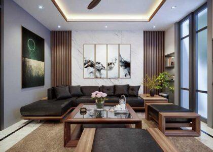 Đồ gỗ nội thất phòng khách xứng tầm đẳng cấp cho gia chủ