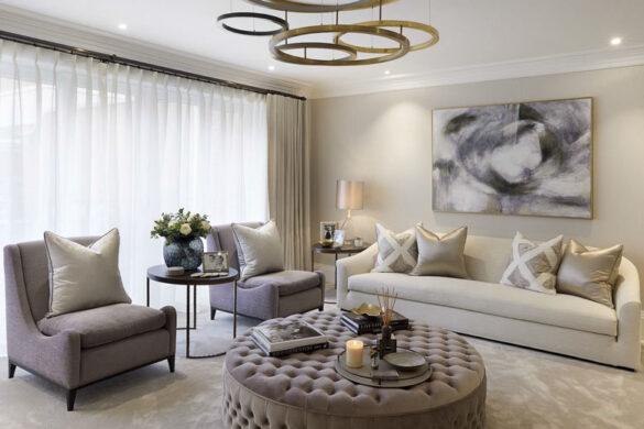 Phong cách nội thất tân cổ điển ứng dụng vào thiết kế nhà ở