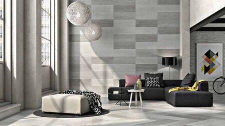 Mẫu gạch ốp tường phòng khách đẹp đang thịnh hành nhất hiện nay