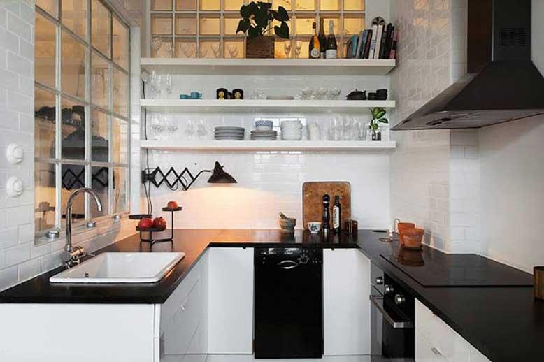 Mẫu nhà bếp nhỏ đẹp 7- lựa chọn nội thất thông minh