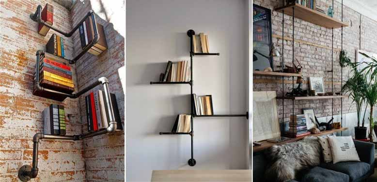 Một số thiết kế đa dạng của kệ treo tường