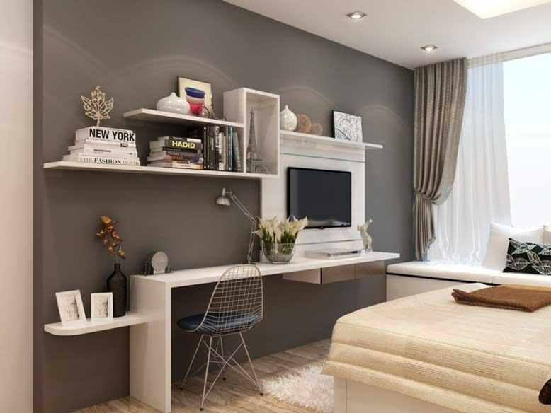 Mẫu kệ treo tường đa năng cho phòng ngủ của bạn