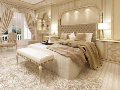 Mẫu thiết kế nội thất chung cư tân cổ điển tinh tế và thanh lịch